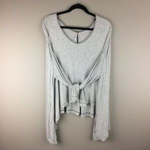 Free People super oversized flowy top